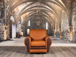 equestrian leather chairs