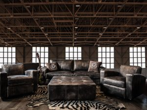 rebel vignette leather sofas