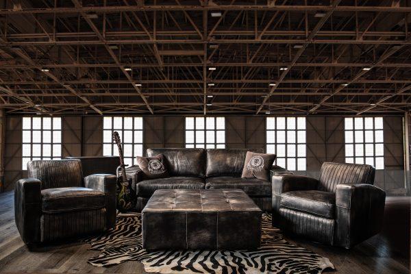 rebel vignette leather sofas