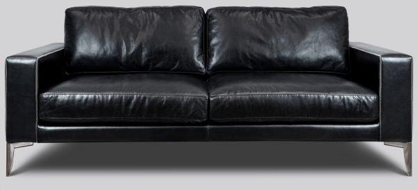milano leather sofa