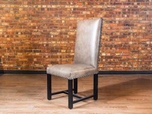 estates nail head dining chair