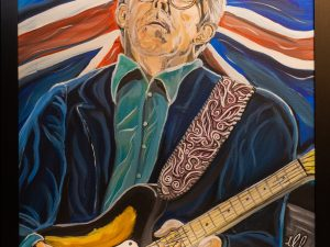 Eric clapton painting