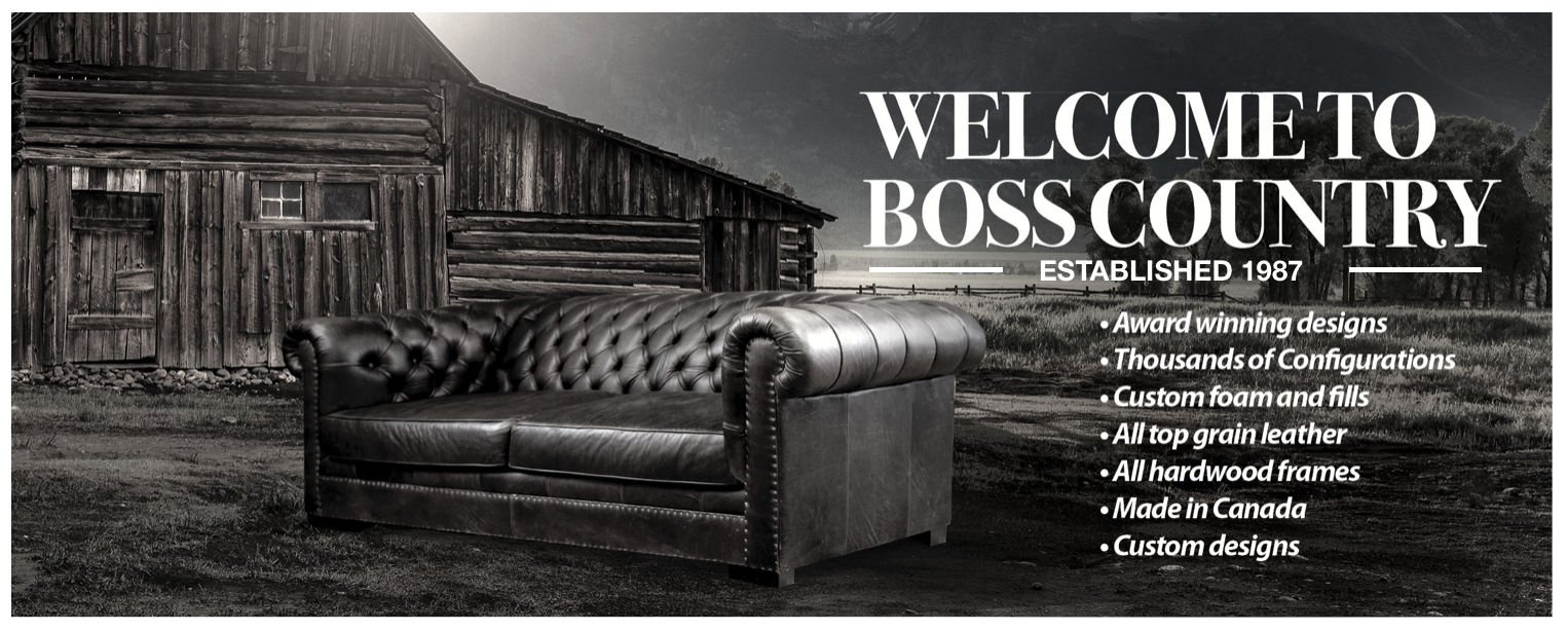 Welcome to Boss Leather Sofa