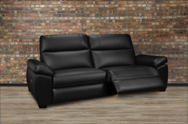 leather recliner Nathan