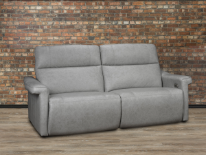 Celestial leather reclining sofa