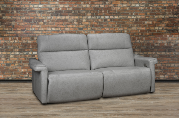 Celestial leather reclining sofa