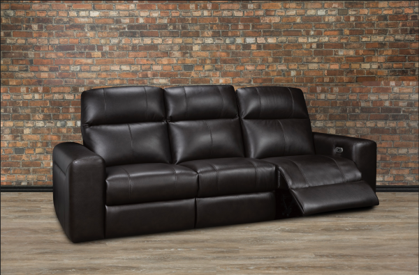 Janice leather recliner