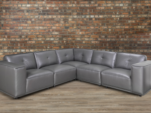 Monteciello leather Sectional