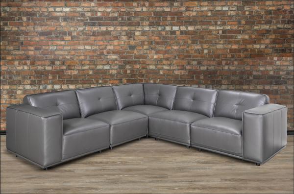 Monteciello leather Sectional