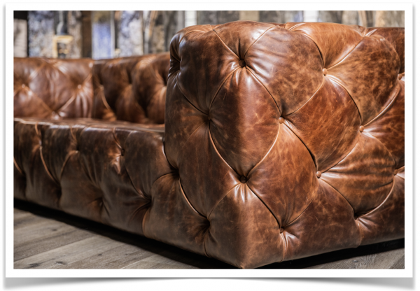 royal decadence leather sofa