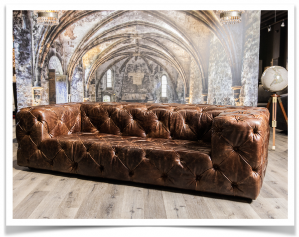 royal decadence tufted sofa