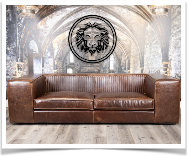 vezina leather sofa