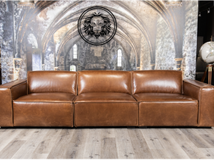 commander leather sofa