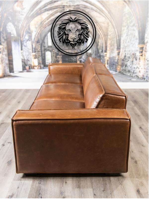 commander leather sofa