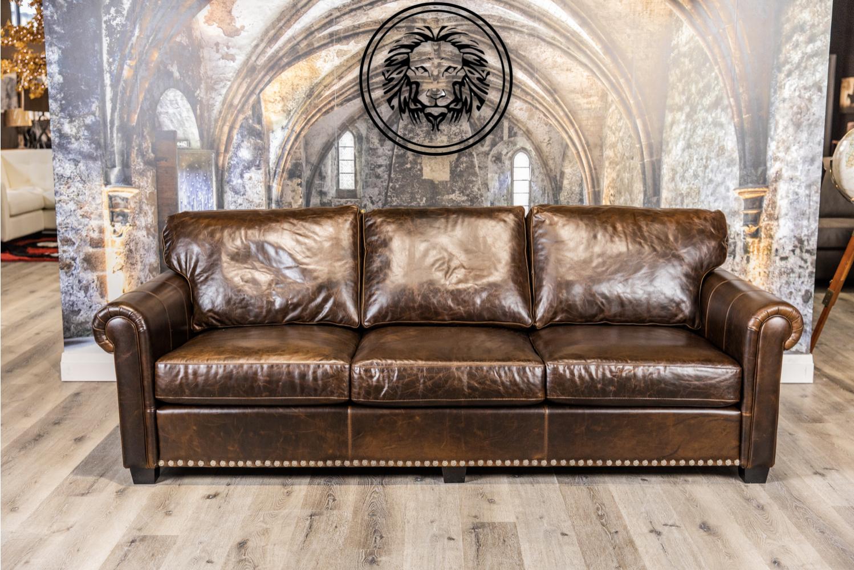Lancaster Extra Large Leather Sofa