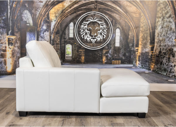 mesa deep seat special leather sofa