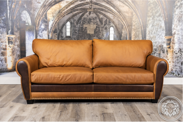 west manor leather sofa