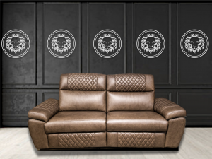 Neptune leather recliner