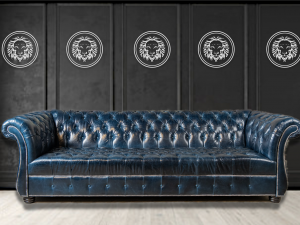 casa bergamo leather sofa