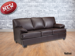 Snathan leather sofa