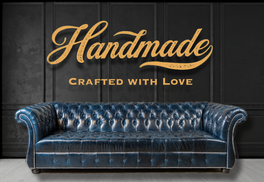 handcrafted leather sofas