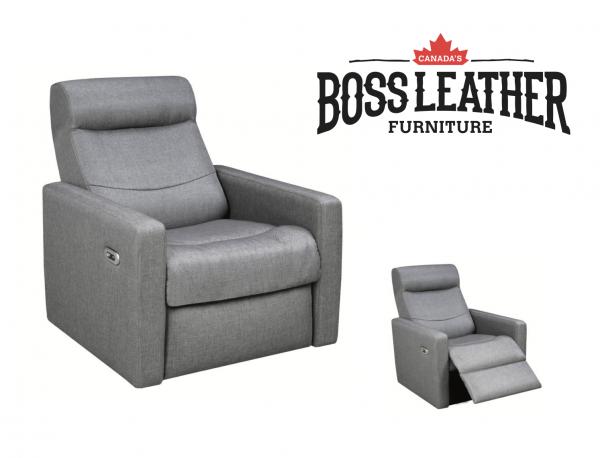 fabric reclining chair