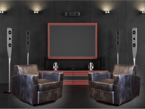 rebel leather chair cinema