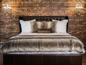 Leather Headboards and Beds