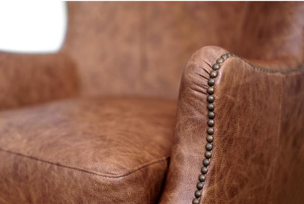 Prince arthur leather chair