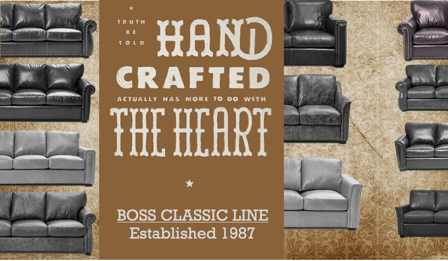 Boss leather Classic leather line