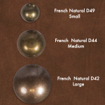 french natural studs