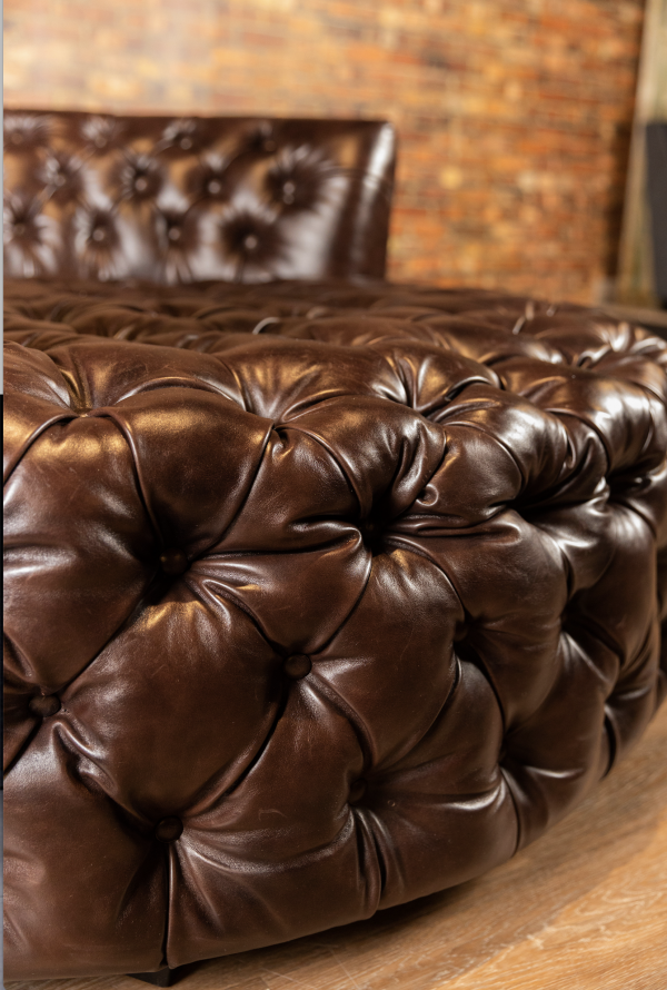 leather cutler tufted