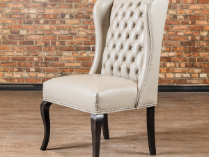 Embassy tufted dining chair