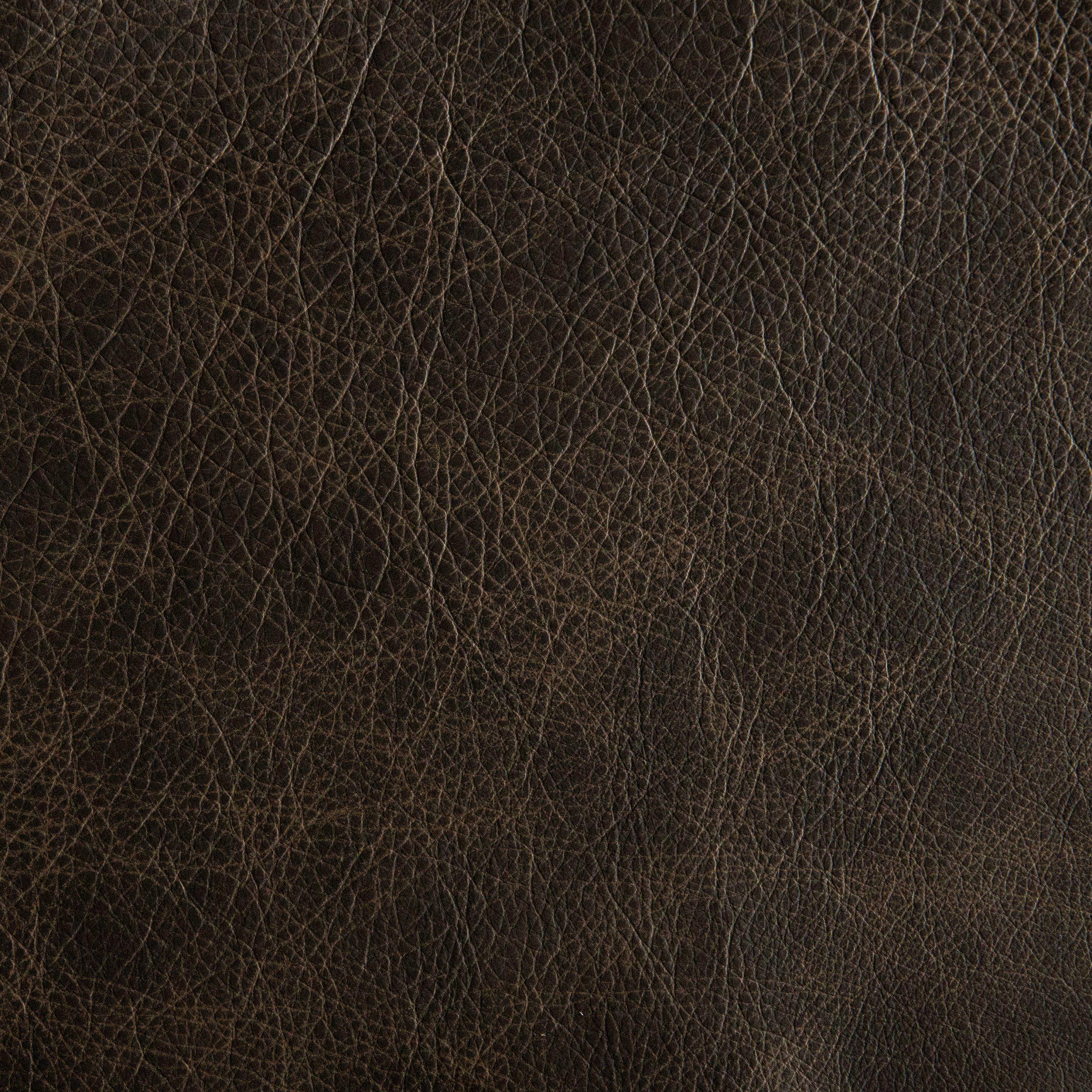 Mushroom Tan Leather Cowhide Partial #BR967