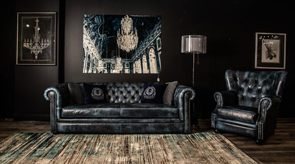 aficionado leather chair