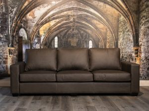 elegante leather sofa