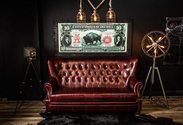 aficionado leather sofas