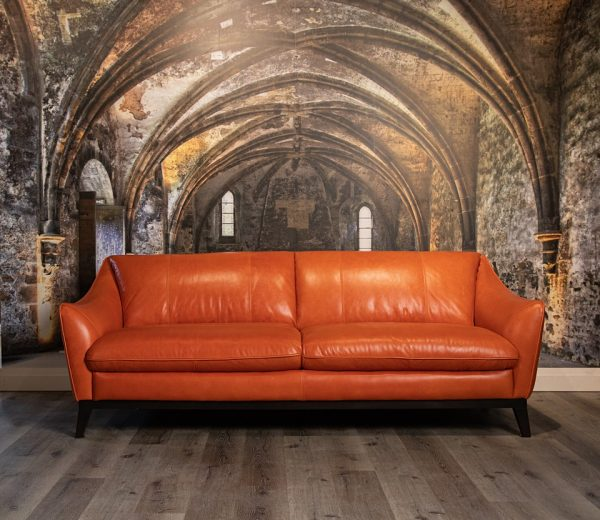 louvre leather sofas
