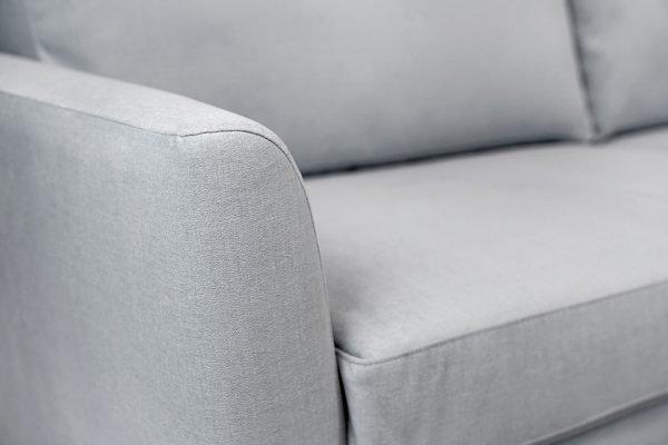 fabric sofa detail shot