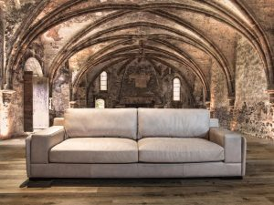 meducci leather sofa
