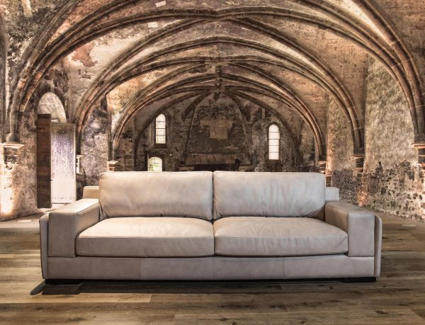 meducci leather sofa
